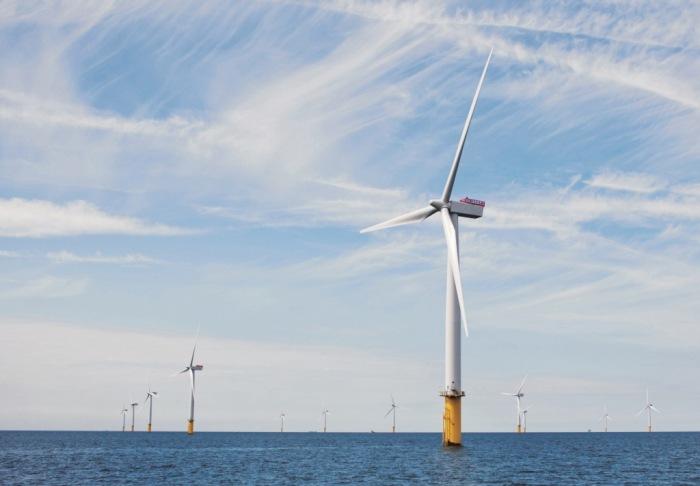 Siemens powered Gwynt y Mor wind farm