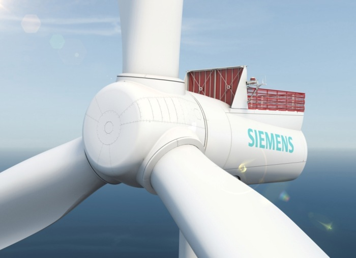 Siemens wind turbines