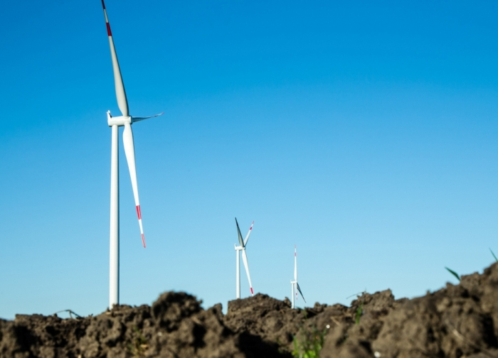 Siemens and Hornsdale wind farm project in South Australia