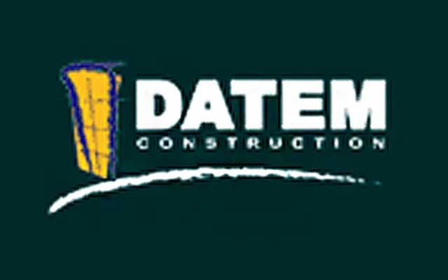 Datem construction logo