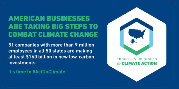 American Business Act on Climate Pledge