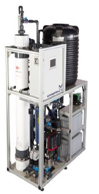 Grundfos AQpure water treatment system