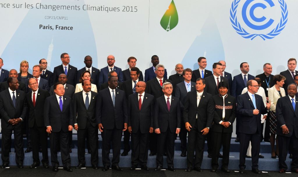 Paris Climate summit November 30