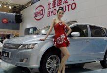 BYD e-vehicle China