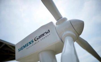 Siemens Gamesa wind turbine