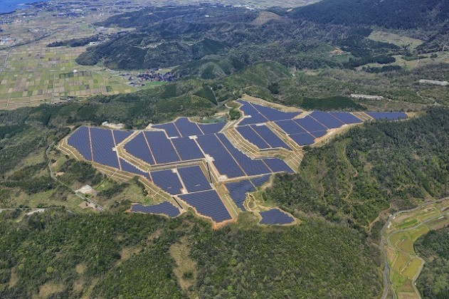 KYOCERA TCL Solar power plant