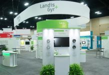 Landis+Gyr at a trade event