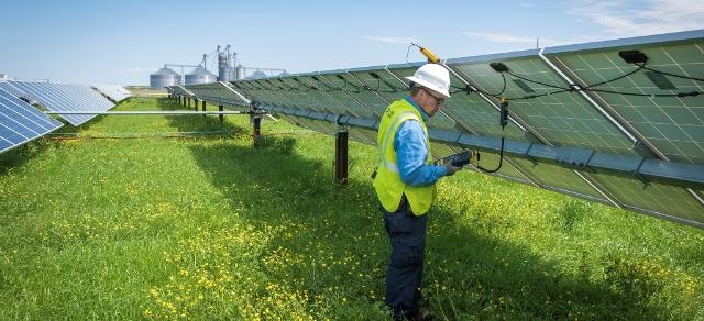 Duke Energy solar field