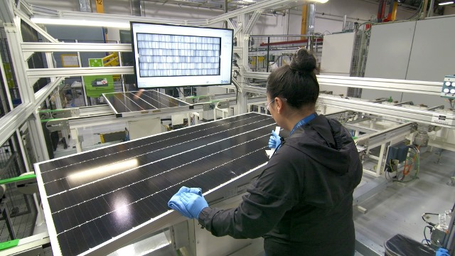 SunPower manufacturing US