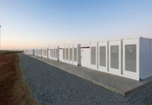 Tesla battery storage packs