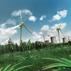 Green energy boom report in Middle East
