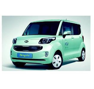 Kia Motors\' electric vehicle makes North American debut